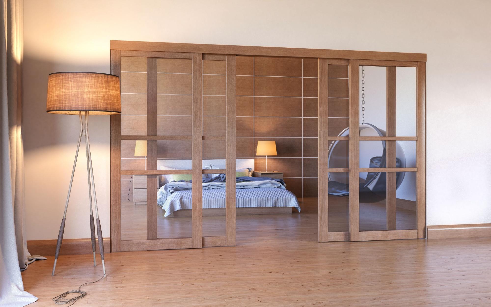 передвижные двери перегородки в квартире фото фото видно